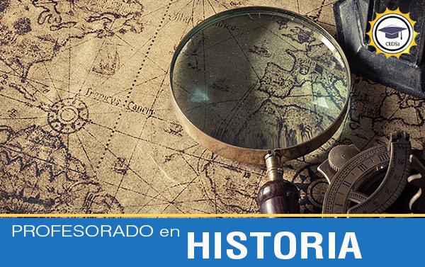 PROFESORADO A DISTANCIA EN HISTORIA